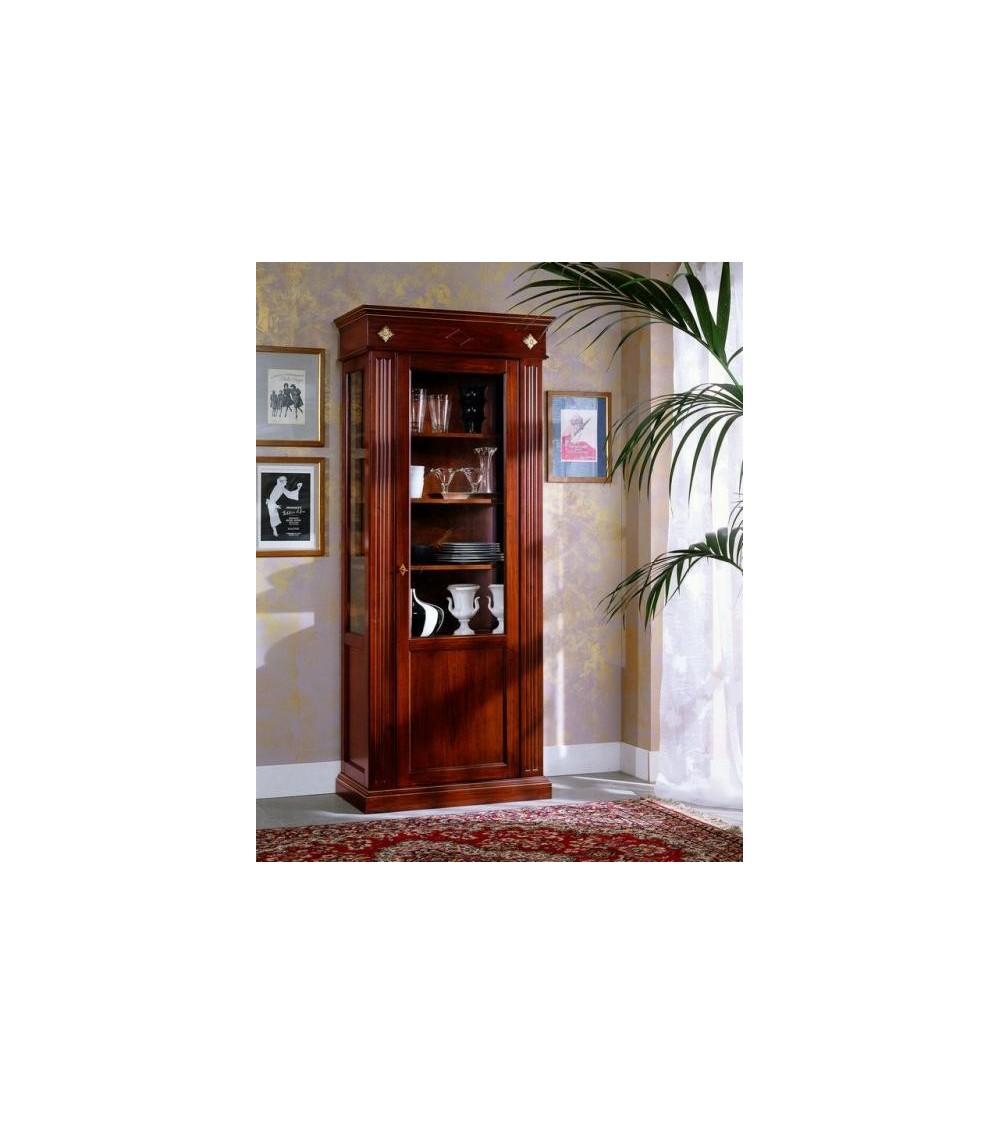 Vetrina classica dritta una porta