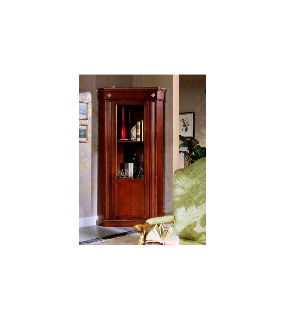 Vetrina classica angolo una porta