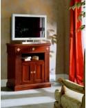 Porta-TV classico angolo due porte