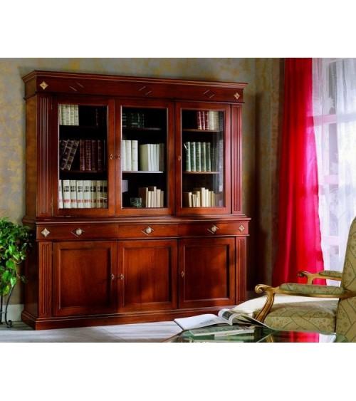 Cristalliera classica tre porte larghe - VDE809 - 1 - Credenze