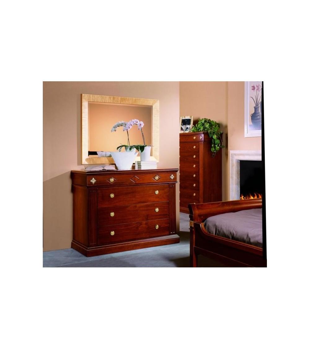 Specchiera classica dorata - VDE828 - 1 - Specchiere
