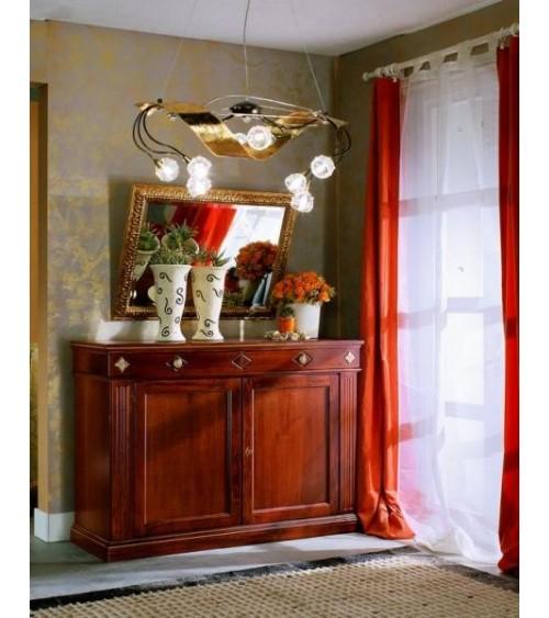 Specchiera classica dorata - VDE829 - 1 - Specchiere