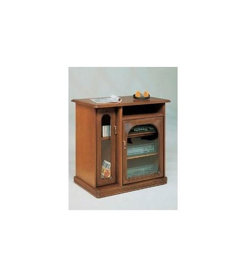 Porta-stereo classico vetro due porte - M102 - 1 - Porta TV