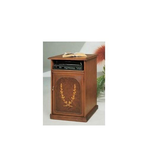 Portatelefono classico radica intarsio una porta - M403 - 1 - Porta TV