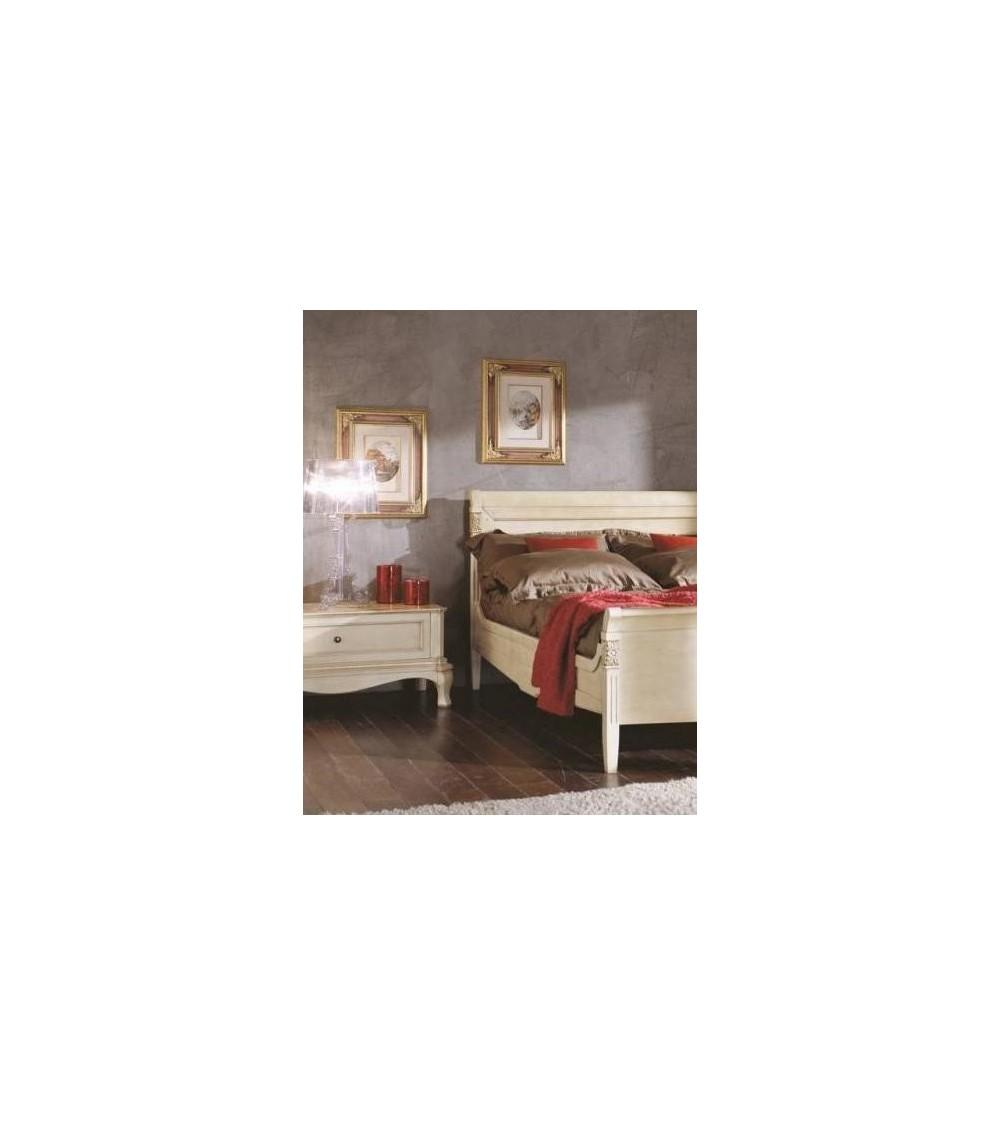 Comodino largo/porta-TV classico