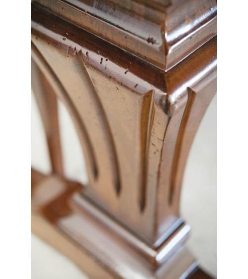 Tavolo classico con greca intarsiata e quattro allunghe - BA17 - 4 - Tavoli