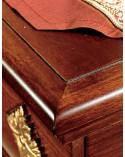 Cristalliera classica c/base due porte sette cassetti
