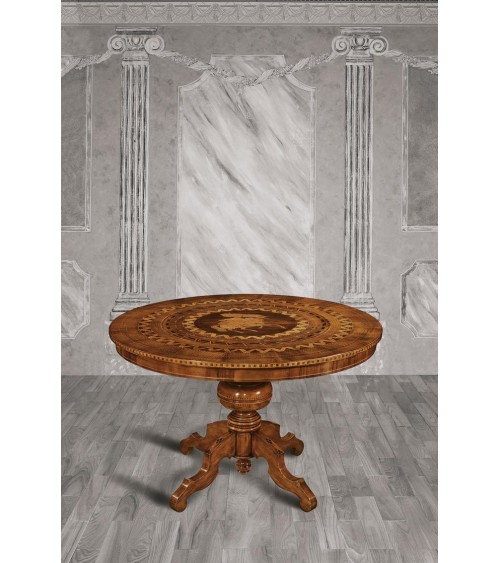 Tavolino rotondo - Z683/A - 1 - Tavoli
