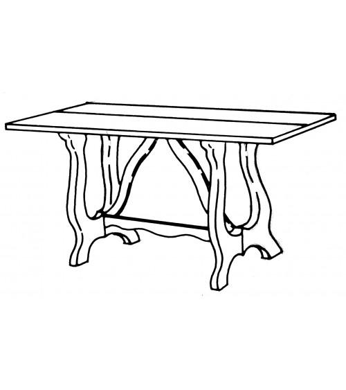Tavolo - Z730/A - 2 - Tavoli