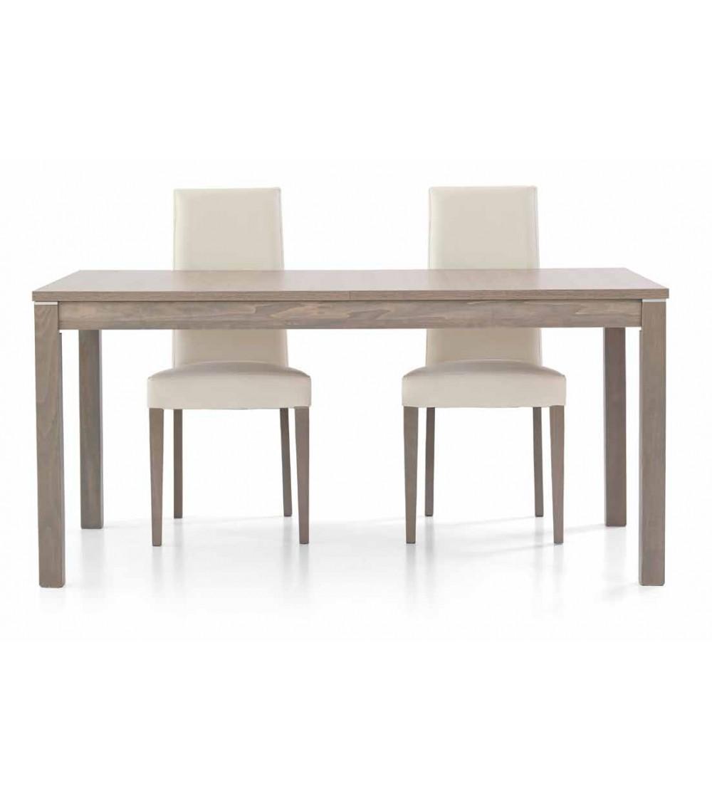Tavolo rovere grigio 160x90 + 2 allunghe 43 - T562 - 1 - Tavoli