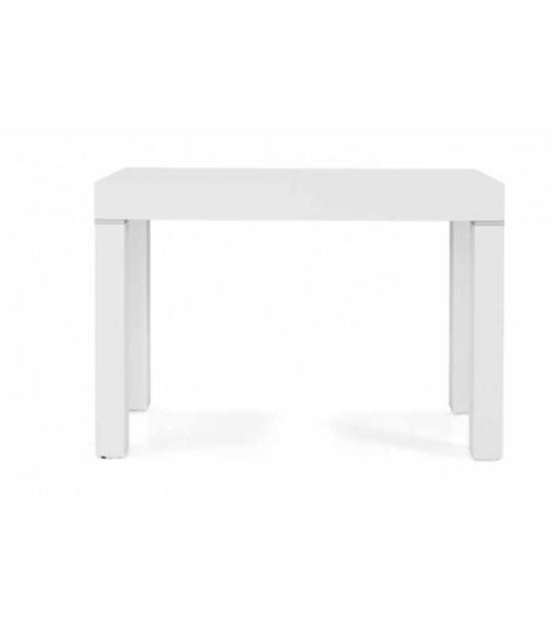 Consolle bianco frassinato 90x50 + 5 allunghe 50 - T600 - 1 - Consolle