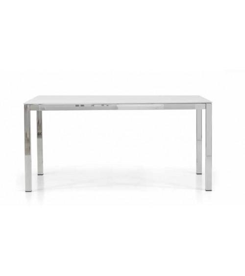 Tavolo vetro 160x90 + 2 allunghe 50 - T603 - 1 - Tavoli