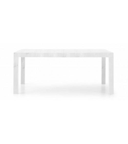 Tavolo bianco 160x90 2 allunghe 50 - T657 - 1 - Tavoli
