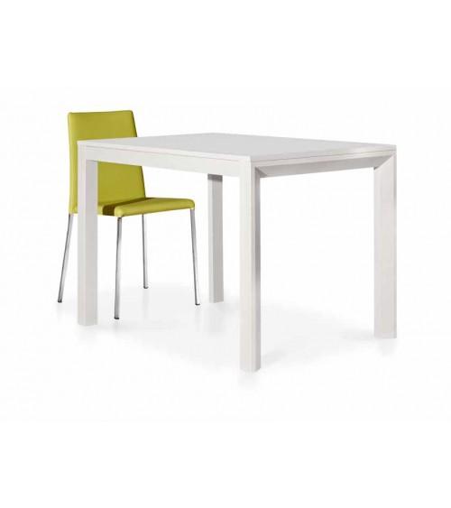 Tavolo bianco frassinato 110x70 1 allunghe 50 - T659 - 2 - Tavoli