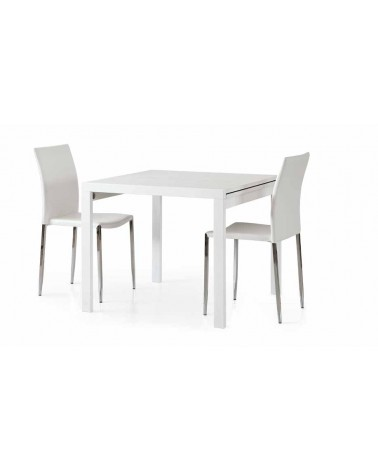 Tavolo bianco frassinato 90x90 - T662 - 1 - Tavoli