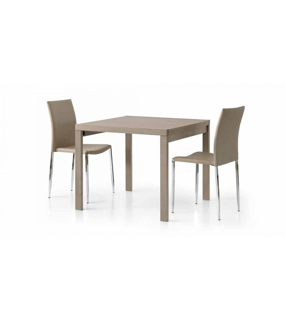 Tavolo tortora 90x90 - T664 - 1 - Tavoli