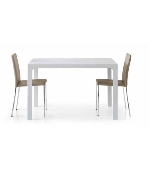Tavolo bianco frassinato 120x90
