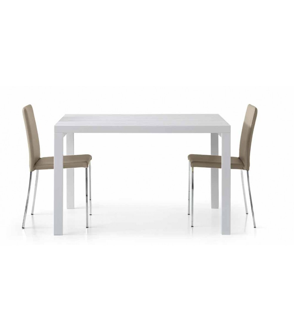 Tavolo bianco frassinato 120x90 - T666 - 1 - Tavoli