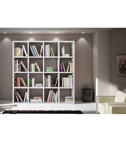 Libreria bianco frassinato L. 175 P. 30 H. 175 - T568 - 3 - Librerie