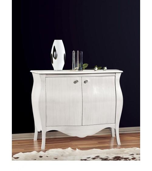 Tavolo bianco frassinato 180x90 + 4 allunghe 43