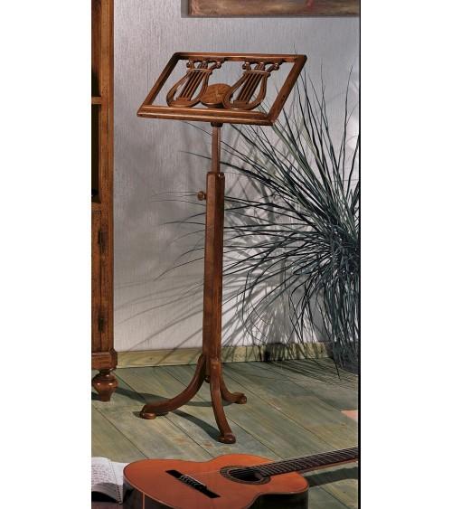 Tavolo a libro 100x100 verniciato tinta noce con gambe a sciabola