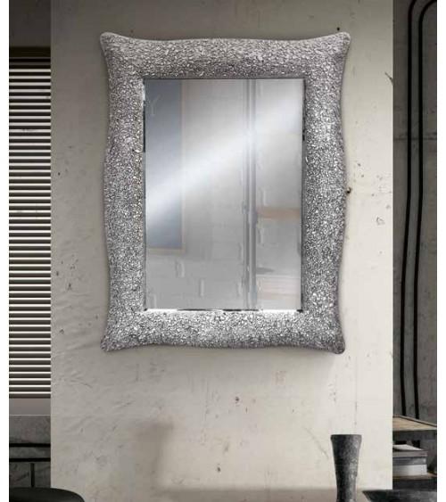 Specchiera argento 85x65 - T627 - 1 - Specchiere