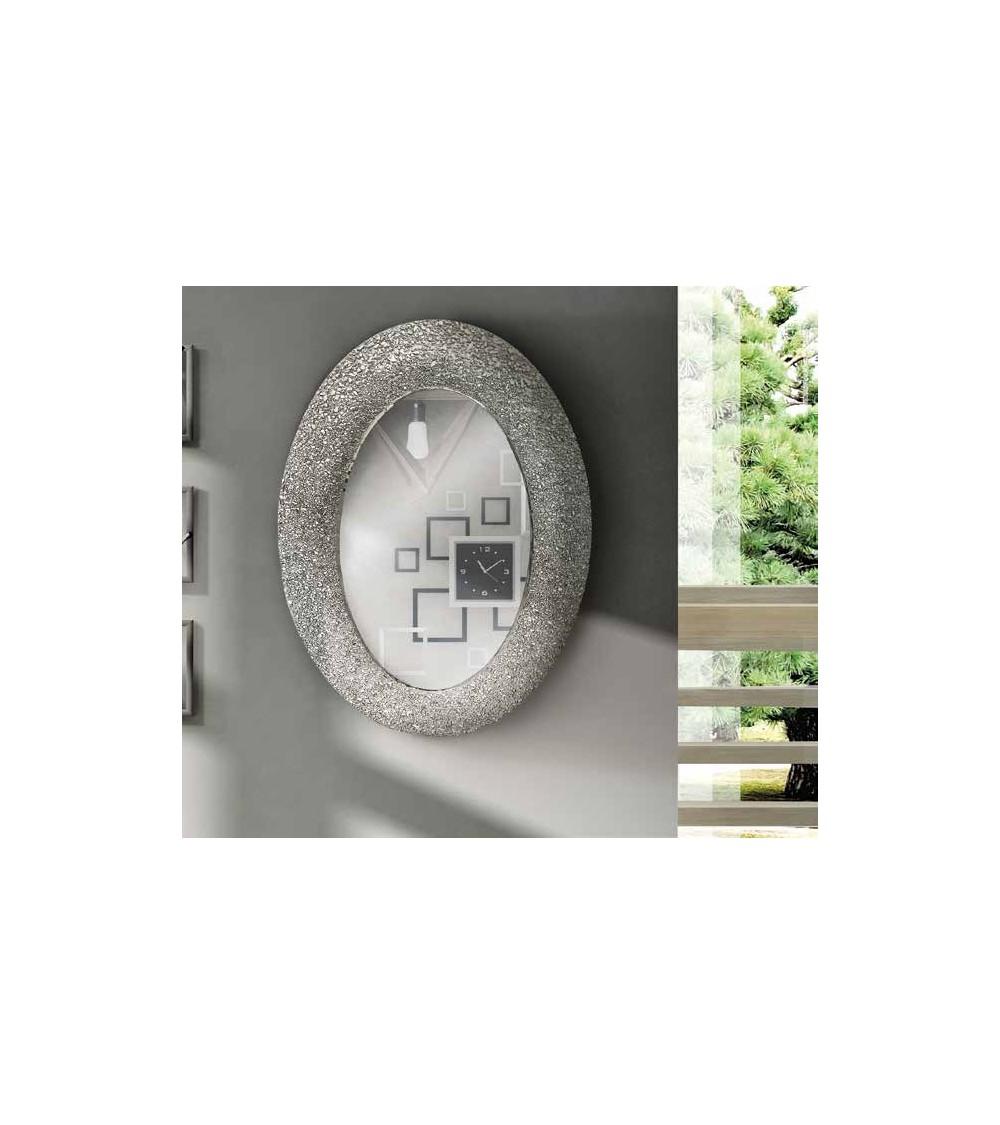 Specchiera argento 90x65 - T628 - 1 - Specchiere
