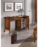 Tavolo bianco frassinato 140x90 + 1 allunghe 50 con struttura metallo
