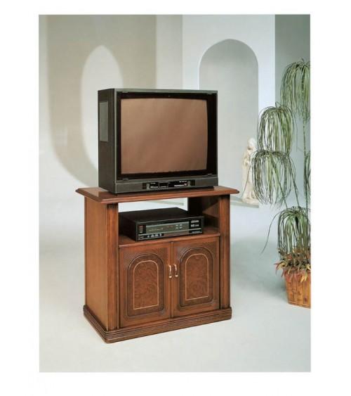 Porta TV  classico bifacciale noce due porte - M601 - 1 - Porta TV