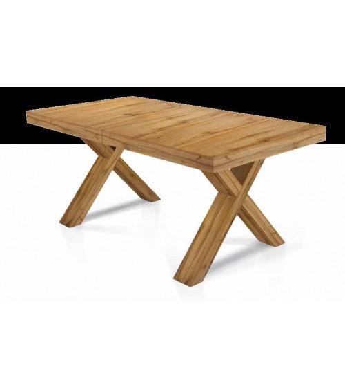 Tavolo nobilitato finitura rovere nodato ヨ 180x100 6 all. cm.50 - T1684 - 1 - Tavoli