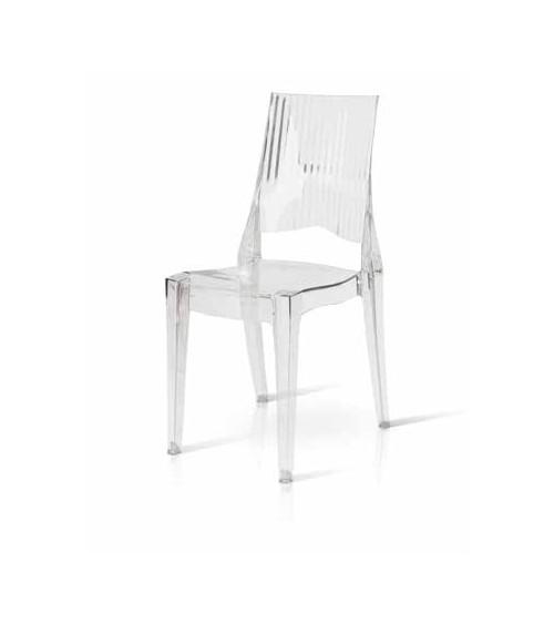 Sedia moderna trasparente - T694 - 1 - Moderne