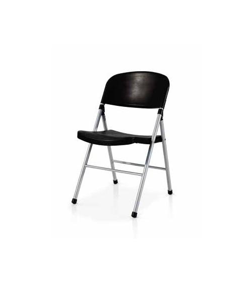 Sedia pieghevole nera - T920 - 1 - Moderne