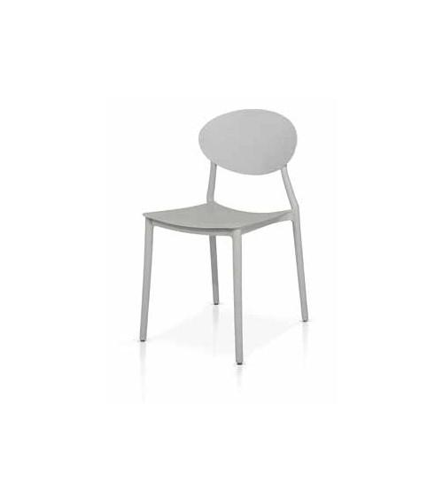 Sedia grigia - T970 - 1 - Moderne
