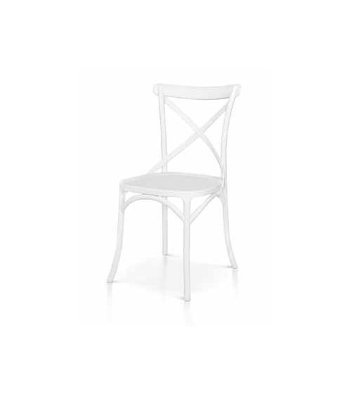 Sedia bianca - T972 - 1 - Classiche