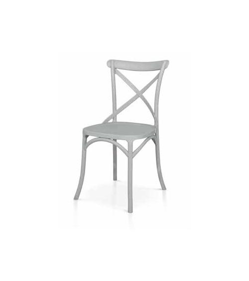 Sedia grigia - T973 - 1 - Classiche
