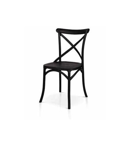 Sedia nera - T974 - 1 - Classiche