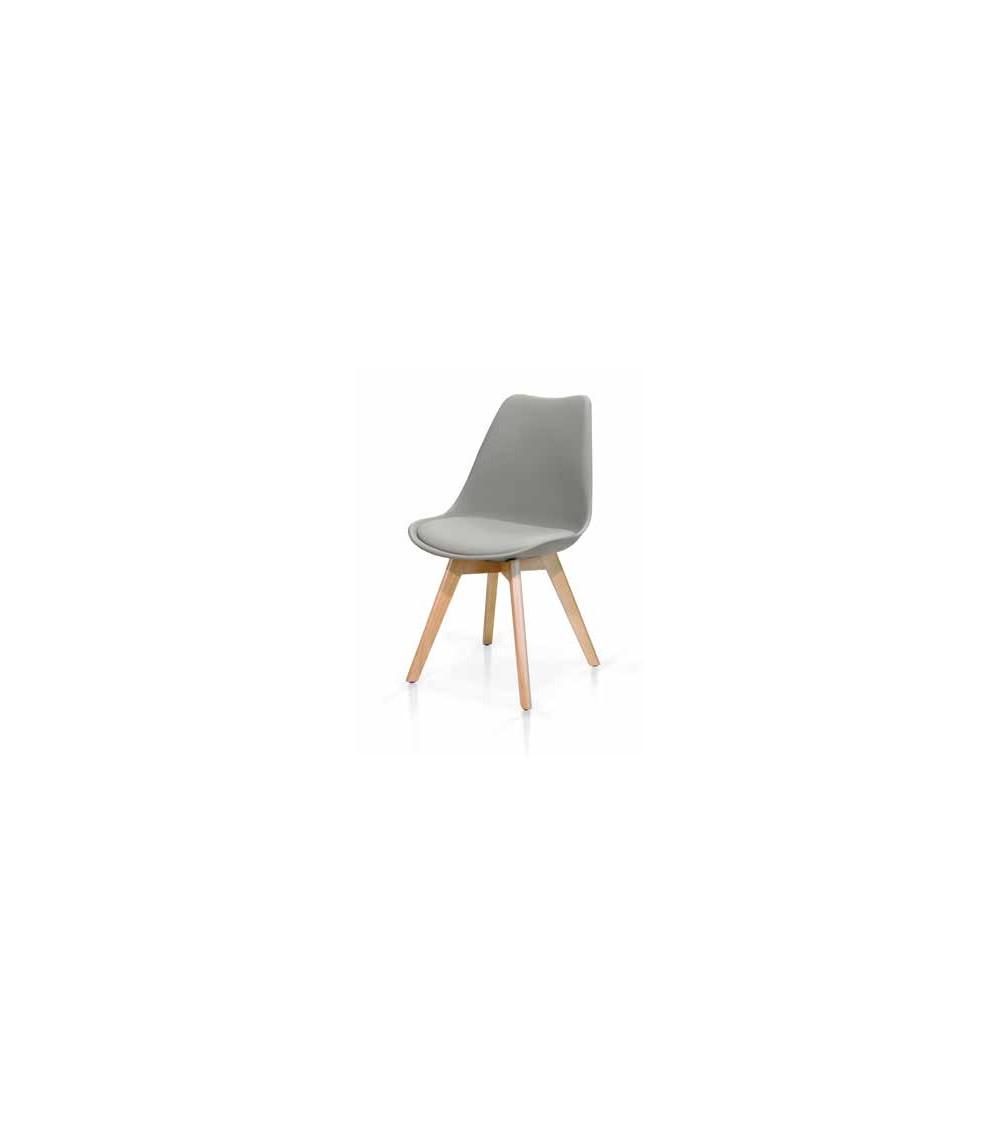 Sedia grigia - T975 - 1 - Moderne