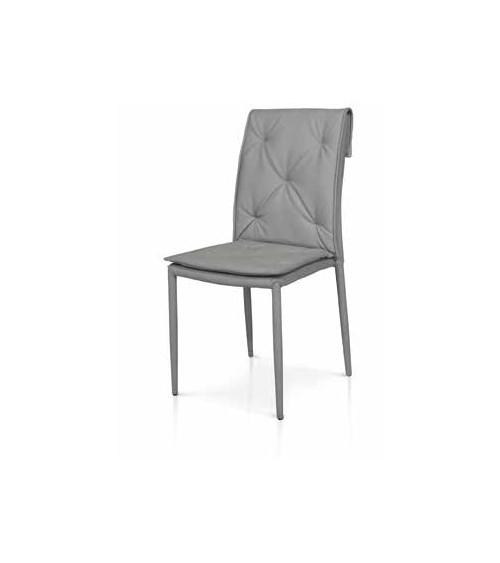 Sedia grigia - T979 - 1 - Moderne