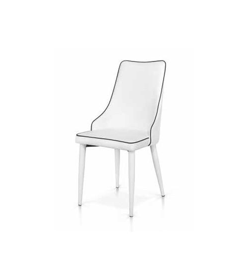 Sedia bianca - T980 - 1 - Moderne
