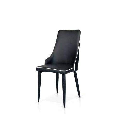 Sedia nera - T983 - 1 - Moderne