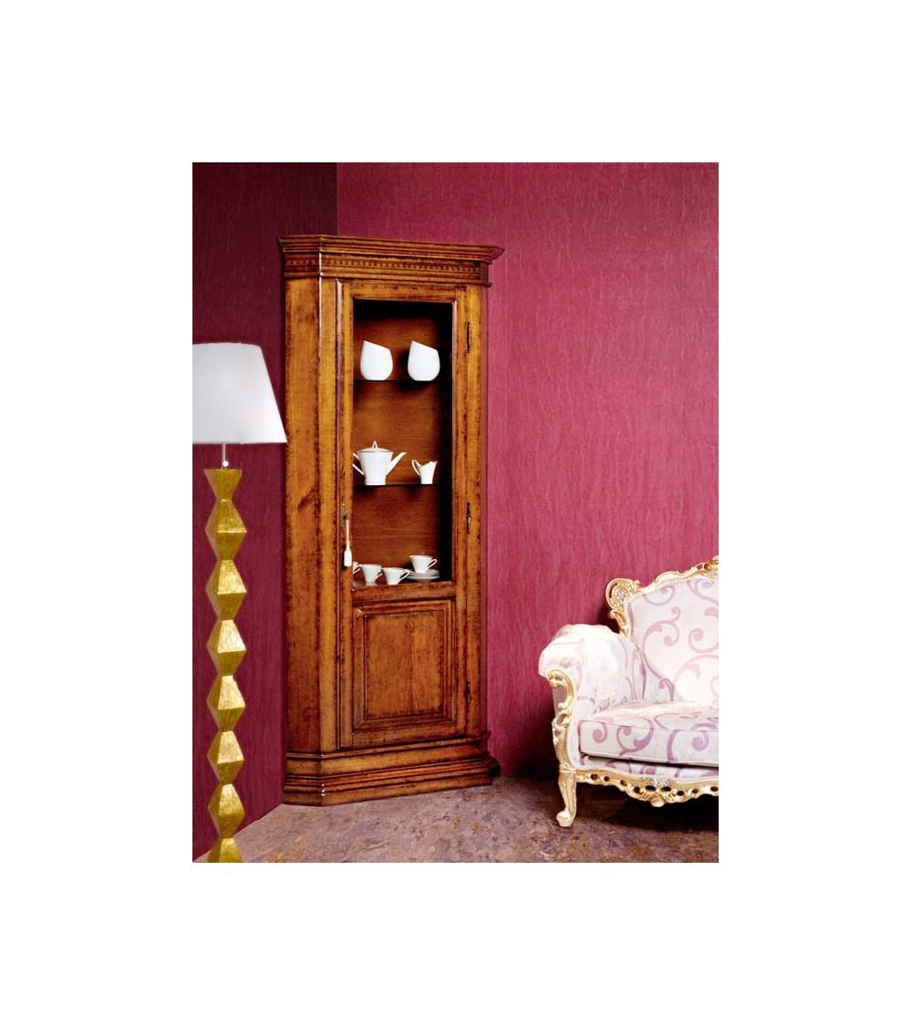 Vetrina classica una porta angolo