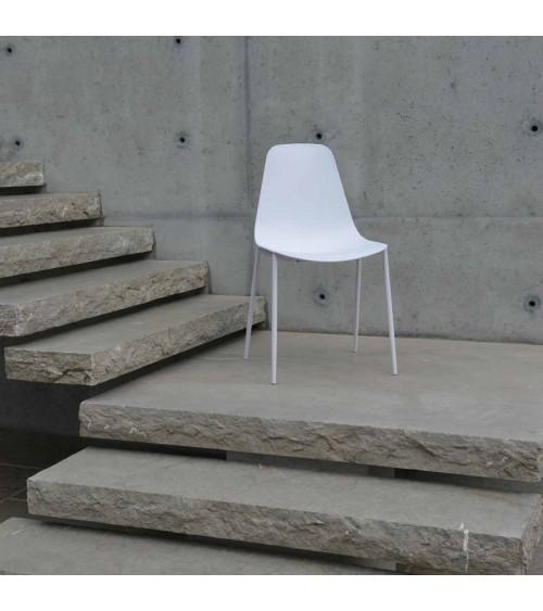 Sedia bianca - T990 - 1 - Moderne