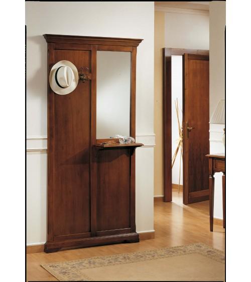 Attaccapanni a parete con specchio e mensola - SOL152/A - 1 - Ingresso