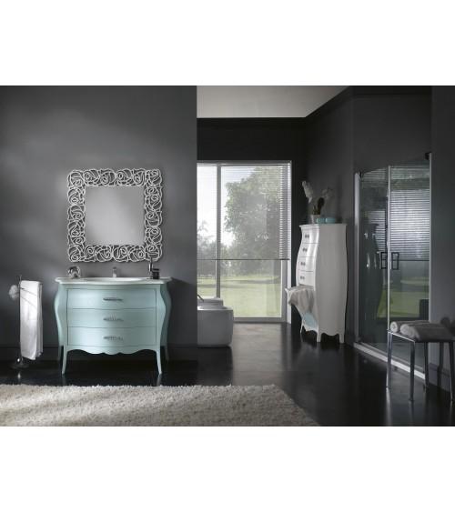 Specchiera quadrata bianca - Z1375/A - 1 - Specchiere