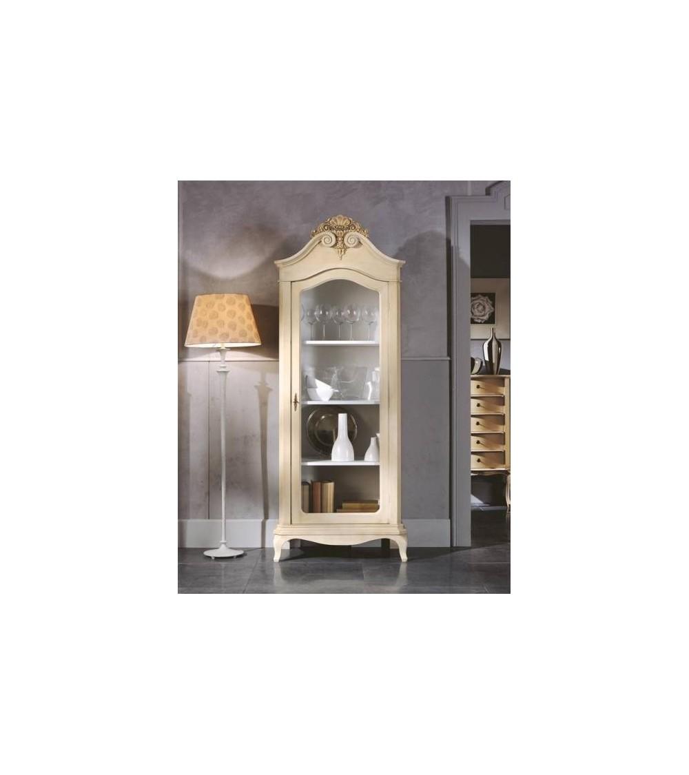 Libreria classica una porta c/ripiani