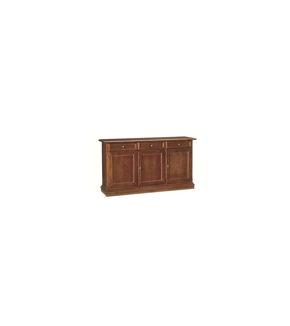 Base credenza classica 3 porte 3 cassetti arte povera - T382 - 1 - Credenze