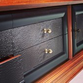 Details. #wood #natural #cherrytree #leather #ecoleather #gold #black #details